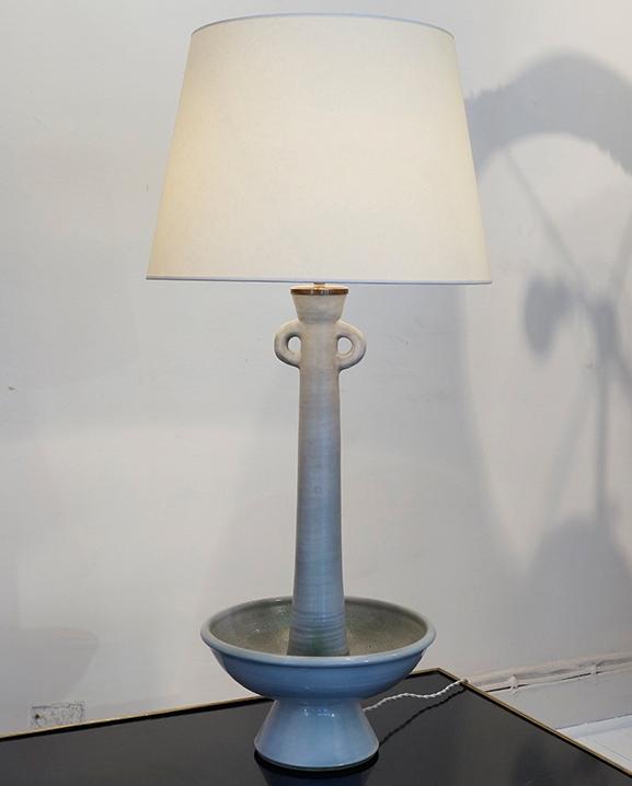 L 083 – Lampe bougeoir  Haut : 56 cm / 37.4 in.