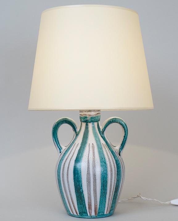 L 365 – Lampe R Picault   Haut : 43 cm / 16.9 in.