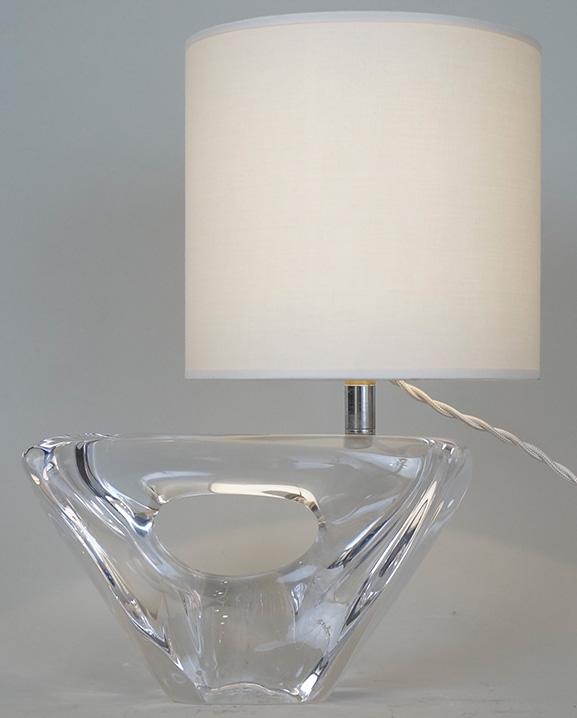 L 375 – Lampe Daum  Haut : 29 cm / 11.4 in.