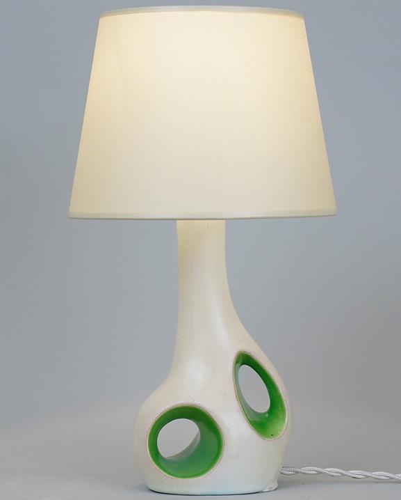 L 448 – Lampe bicolore  Haut : 29 cm / 11.4 in.