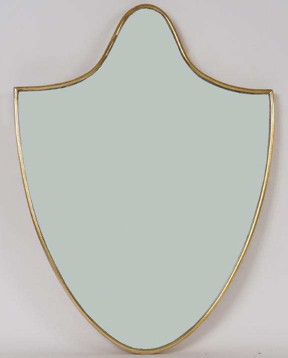 M 256 – Miroir en laiton   Haut : 50 cm / 19.7 in.
