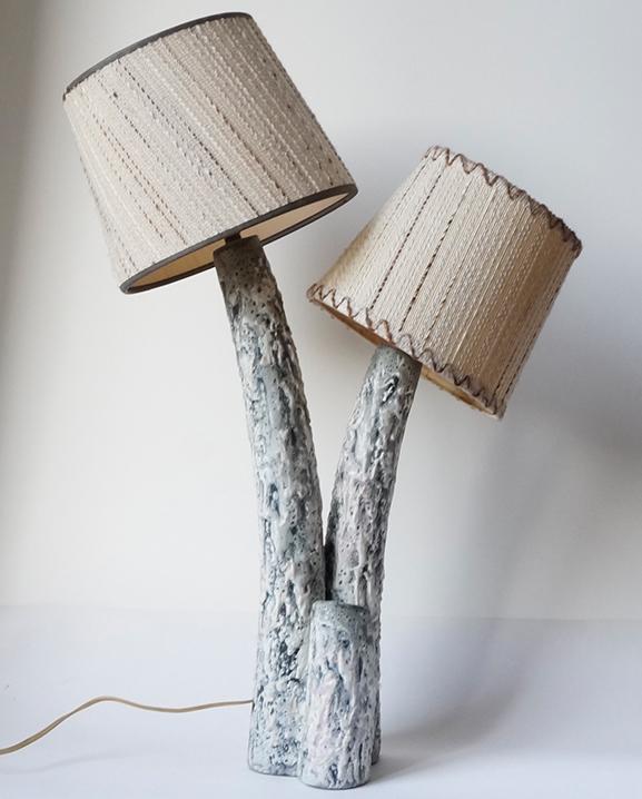 L 594 – Lampe Giraud  Haut : 60 cm / 23.6 in.