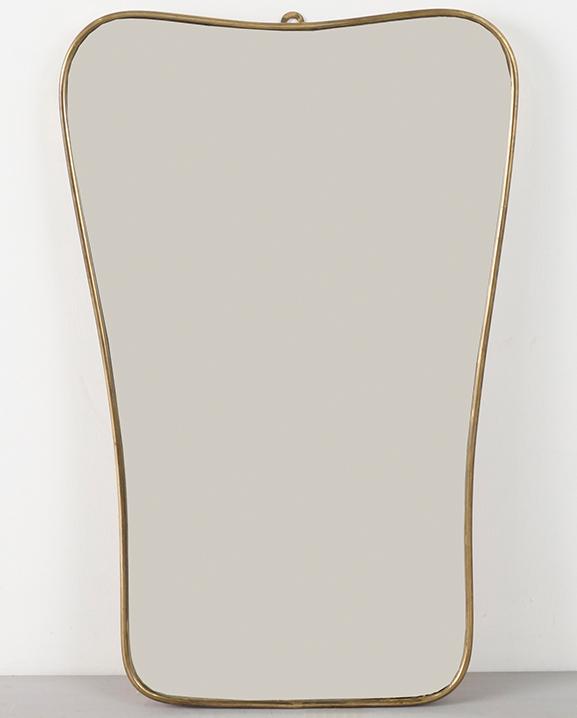 M 285 – Miroir en laiton   Haut : 60 cm / 23.6 in.