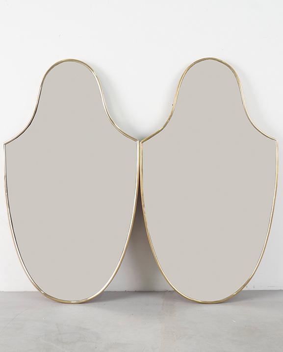 M 287 – Paire de miroirs   Haut : 71 cm / 28 in.