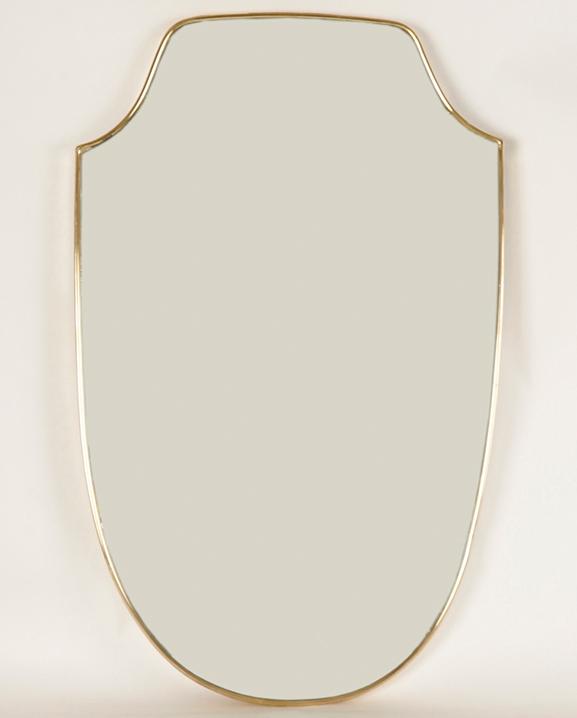M 289 – Miroir laiton  Haut : 82 cm / 31.9 in.