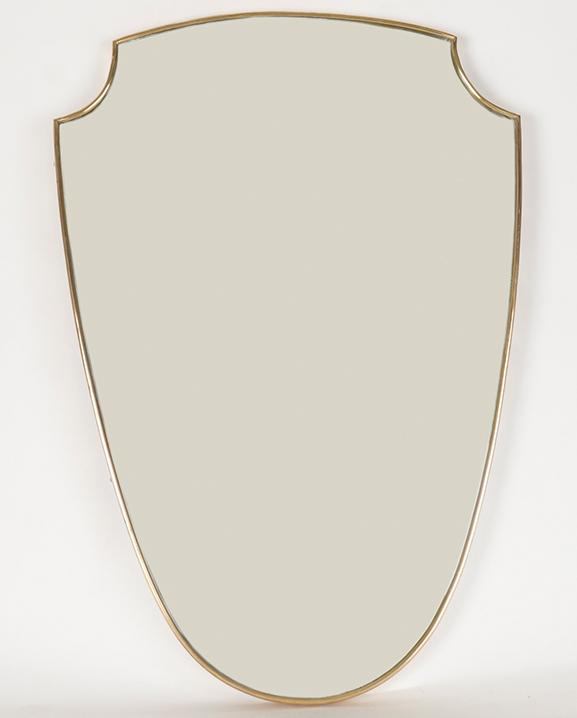 M 295 – Miroir laiton  Haut : 66 cm / 26 in.
