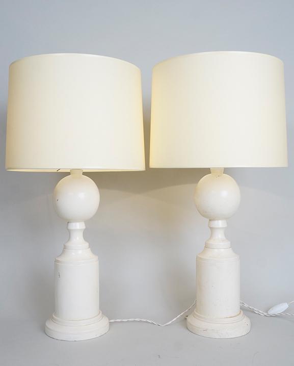 L 449 – Paire de lampes Haut : 61 cm / 23,8 in.