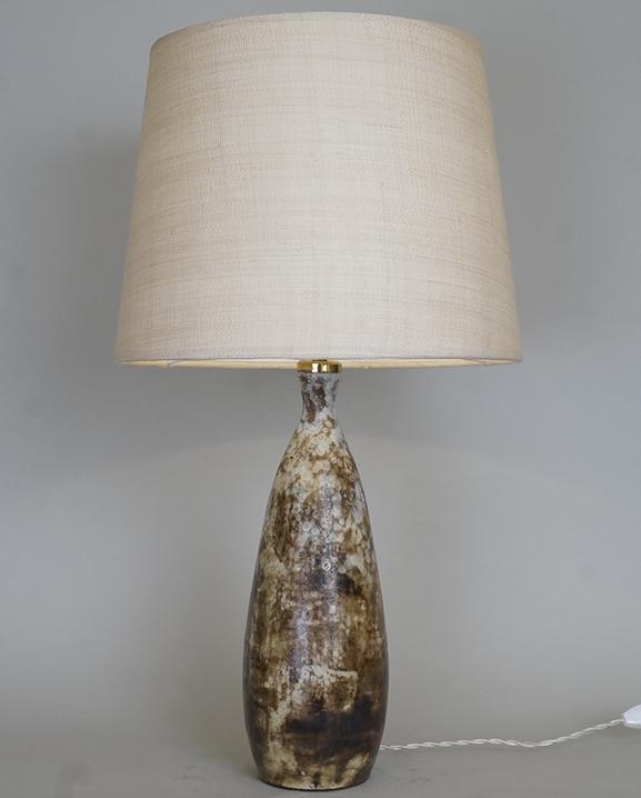 L 699- Lampe céramique Kostenda Haut : 62 cm / 24,4 in