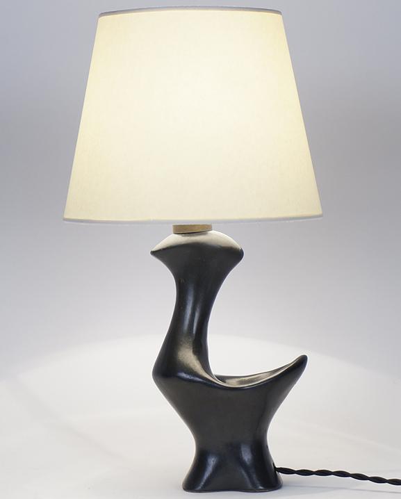 L 599 – Lampe Zoomorphe Haut : 36 cm / 14,2 in.