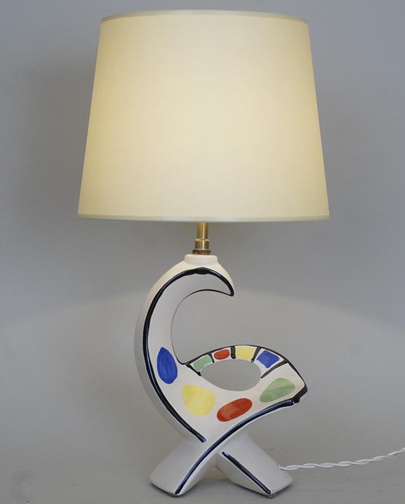 L 649 – Lampe Zoomorphe Haut : 42 cm / 16,5 in.