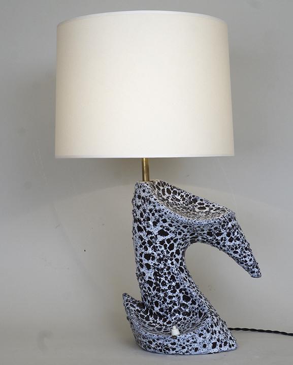 L 457 – Lampe Zoomorphe Haut : 57 cm / 22,4 in.
