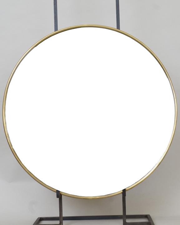M 318 – Miroir en laiton   D : 51 cm