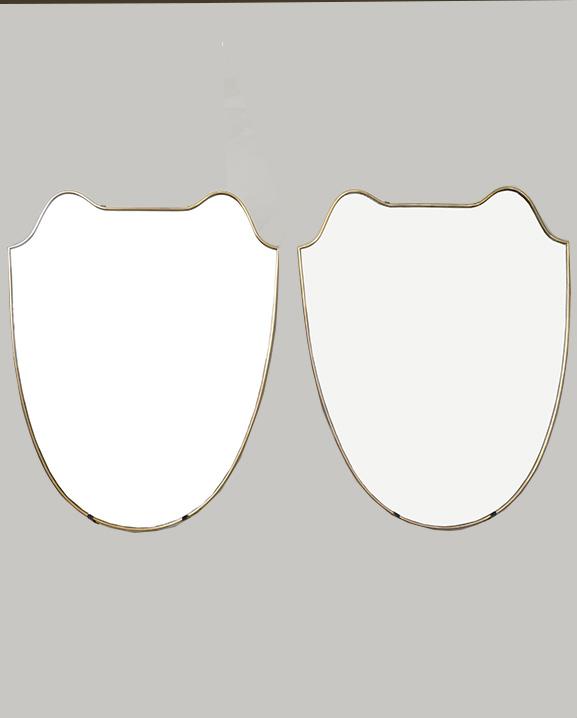 M 320 – Paire de Miroirs  H : 71 cm L : 57 cm