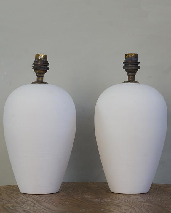 L 753 – Paire de lampes   Haut : 20 cm / 7,9 in.